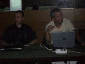 mr Goran Barović i Aleksandar Perović